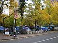 Occupy Portland November 9 camp.jpg