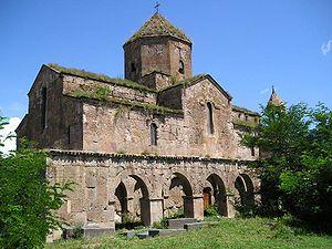 Odzun Church - Southern side of the Odzun Church