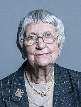 Elspeth Howe, Baroness Howe of Idlicote - Official portrait of Baroness Howe of Idlicote