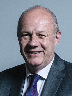 National Security Council (United Kingdom) - Image: Official portrait of Damian Green crop 2