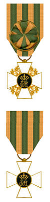 Officier en Ridder