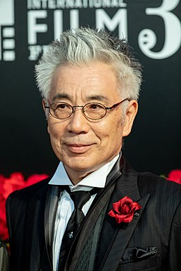 "Ogata Issey from ""The Manga Master"" at Opening Ceremony of the Tokyo International Film Festival 2018 (45568362462).jpg"