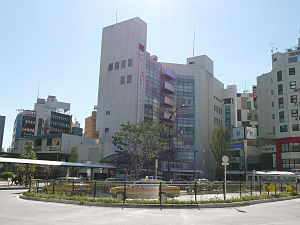 Ogikubo Station - The station forecourt on the north side of Ogikubo Station in September 2011