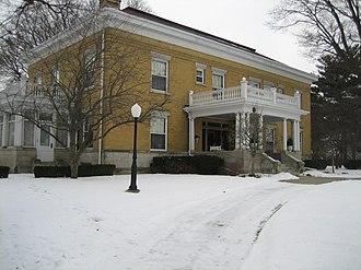 Joseph Lyman Silsbee - Image: Ogle County Polo Il B and L Barber House 1