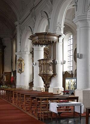 Ohain, Belgium - Image: Ohain church F