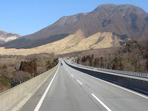 Ōita Expressway - Yufu, Oita, Japan