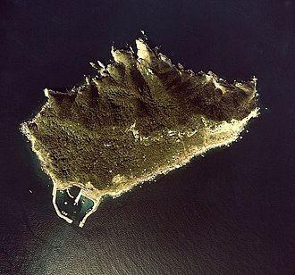 Sacred Island of Okinoshima and Associated Sites in the Munakata Region - Image: Okinoshima aerial 01