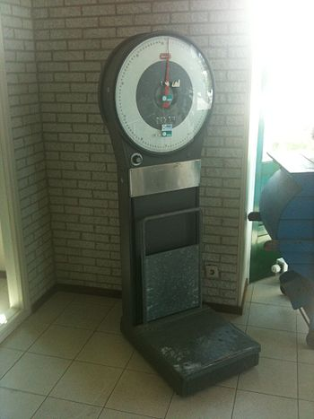 English: Old Weighing scale
