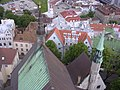 Oleviste church towers from Oleviste main tower.jpg
