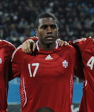 Olivier Occéan - Occéan with Canada in 2010.
