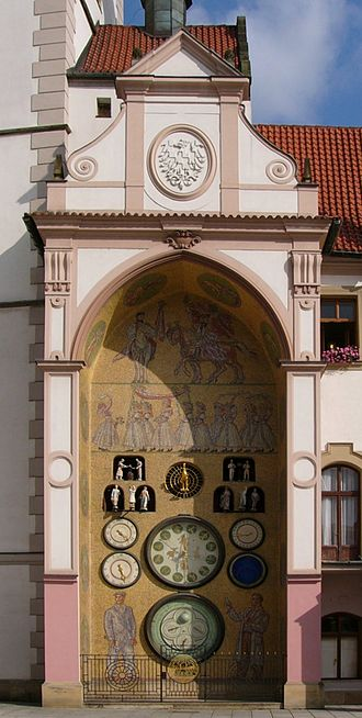 Olomouc - Olomouc astronomical clock