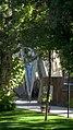 Omar Khayyam Tomb - Trees - Nishapur.JPG