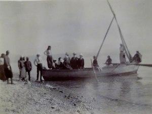 On the Sea of Galilee, Tiberias, 1891