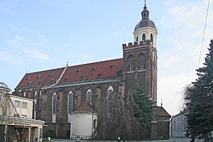 Roman Catholic Diocese of Ostrava-Opava - Opava Co-cathedral Virgin Mary