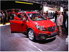 opel mokka wikip dia. Black Bedroom Furniture Sets. Home Design Ideas