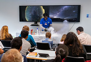 Informal learning - Image: Open House Day 2015 Long Night of Science at ESO's Headquarters
