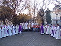 Opening of the Holy Doors of Maribor Cathedral and Basilica, December 13, 2015 02.JPG