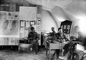 147th Aero Squadron - Operations Office of the 147th Aero Squadron in France, May–June, 1918