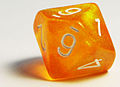 Orange, 10-sided die.jpg