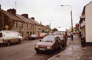 Oranmore Town in Connacht, Republic of Ireland