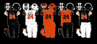 Oregon State Beavers football - Image: Oregon State 2013 Uniforms