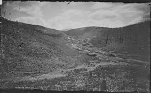 Oro City, Colorado - Image: Oro City, near Leadville. Lake County, Colorado NARA 517025