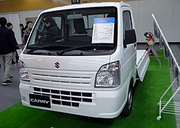 Osaka Auto Messe 2016 (39) - Suzuki CARRY KC (EBD-DA16T).jpg