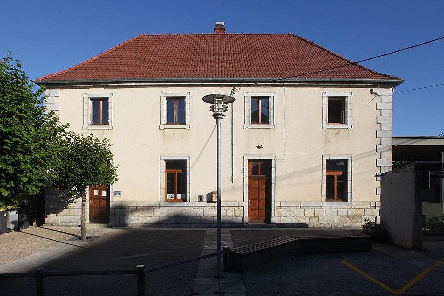 École à Osse (Doubs).