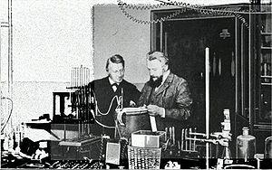Wilhelm Ostwald - Jacobus van 't Hoff (left) and Wilhelm Ostwald