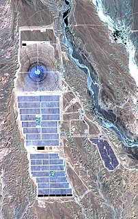 Ouarzazate Solar Power Station power station in Morocco