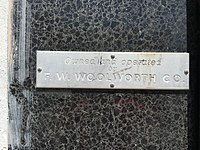 Owned And Operated By F. W. Woolworth Co Sign (29415103122).jpg