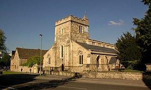 St Cross Road - St Cross Church on St Cross Road.