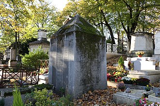 Jean-Baptiste Say - Say's tomb in the Père Lachaise Cemetery in Paris