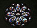Périgueux église St Georges rosace transept nord.JPG