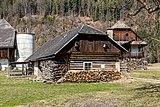 Pörtschach Winklern Brockweg altes Auszugshaus vom Brockhof S-Ansicht 12032017 6530.jpg