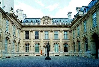 Hôtel particulier - Hôtel de Saint-Aignan in Paris.