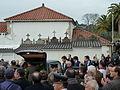 P1110168 Enterro Fraga Perbes - coche funebre, netos.JPG