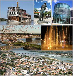 Pirapora Municipality in Southeast, Brazil