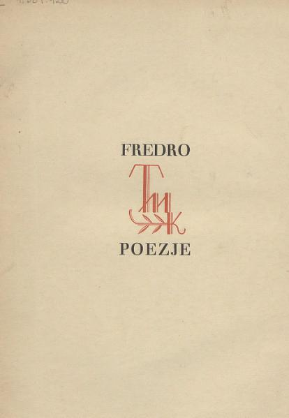 File:PL Fredro Aleksander - Nieznany zbiór poezyj.djvu
