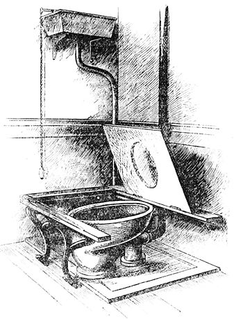 PSM V34 D326 Late 19th century sanitary water closet and drainage.jpg