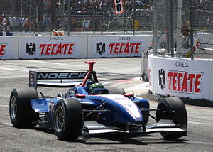 Paul Tracy - Tracy at the 2008 Toyota Grand Prix of Long Beach