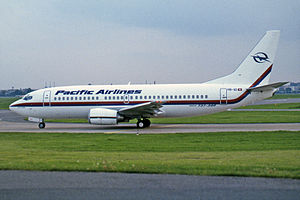 Jetstar Pacific - A Pacific Airlines Boeing 737-300 in Berlin, 1996.