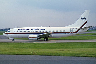 Jetstar Pacific - A Pacific Airlines Boeing 737-300 in Berlin, 1996