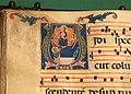 Pacino di buonaguida, antifonario con assunta in iniziale V, 1300-10 ca. (prato, archivio diocesano) 02.jpg