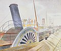Paddle Steamers, Bristol Quay - Eric Ravilious - 1938.jpg