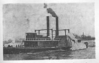 Paddle steamer City Ice Boat n-o 1