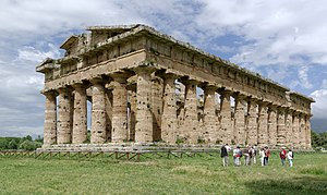 Magna Graecia - Image: Paestum BW 2013 05 17 15 01 57