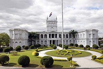 Palacio de los López - The López Presidential Palace at Asunción.