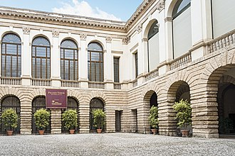 Palazzo Thiene - Courtyard of the Palazzo Thiene