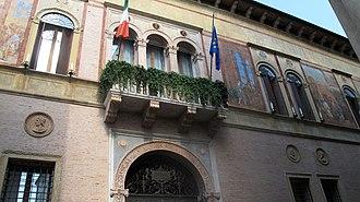Palazzo Thiene - Image: Palazzo Thiene Vicenza 54 (8188172884)